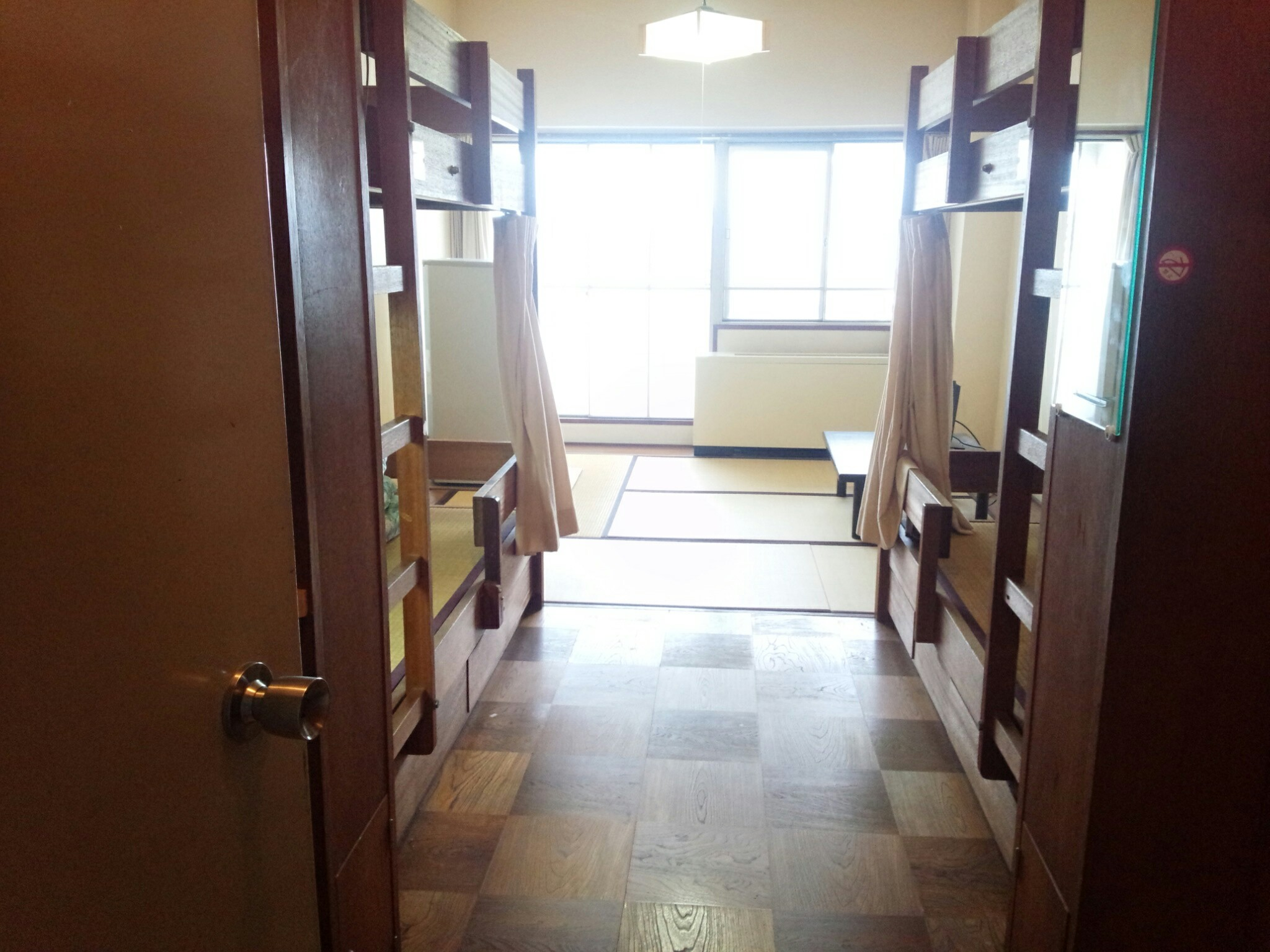 退寮前にマツダ大原寮の部屋を何枚か撮影してみた