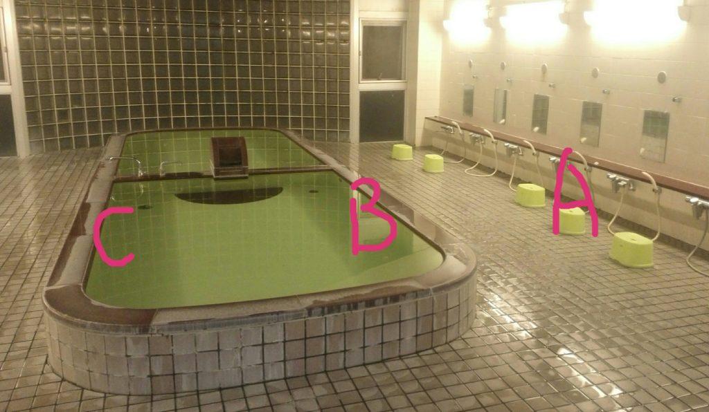 風呂のマナー