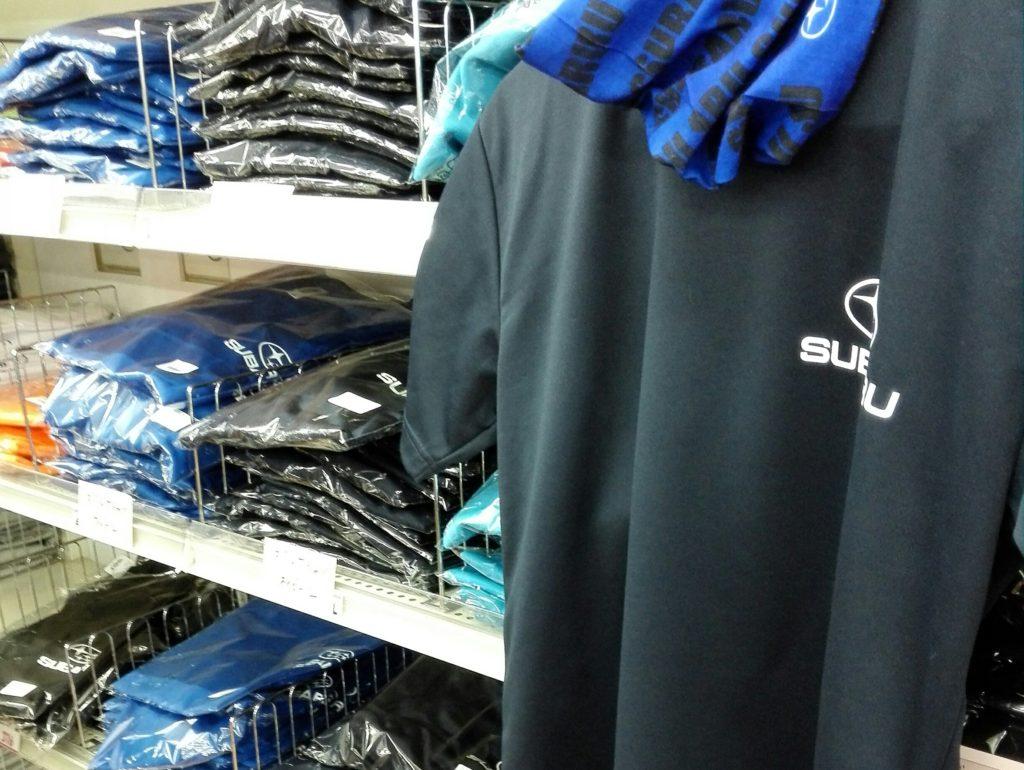 スバル矢島SLSシャツ売り場