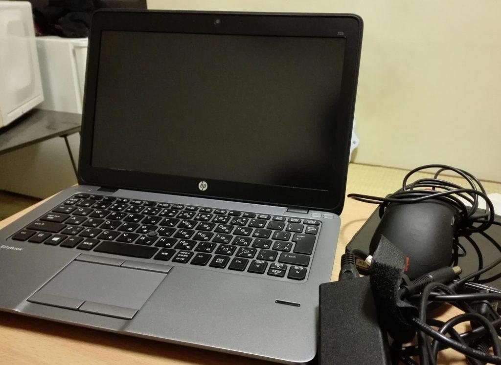 HP社製のノートパソコン