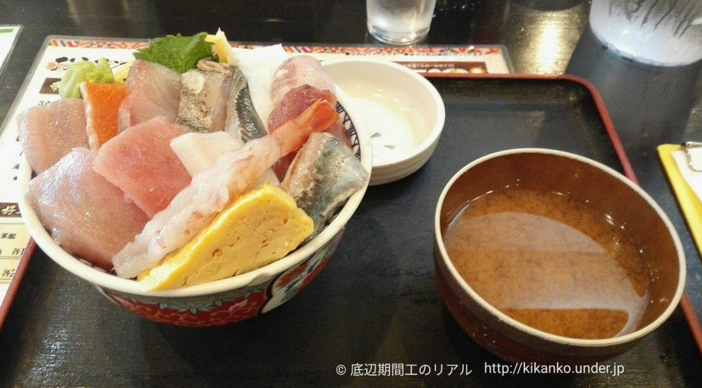 しれとこ食堂海鮮丼ランチ