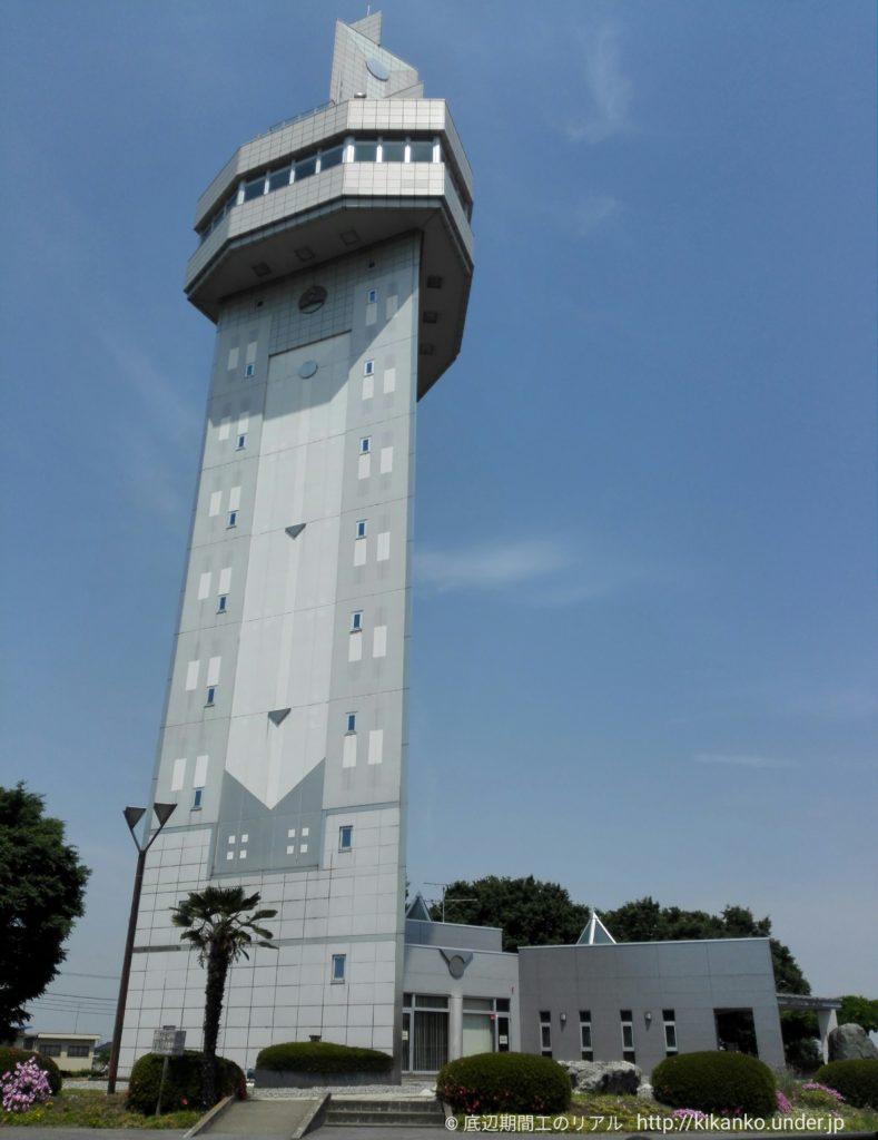 邑楽町シンボルタワー全景