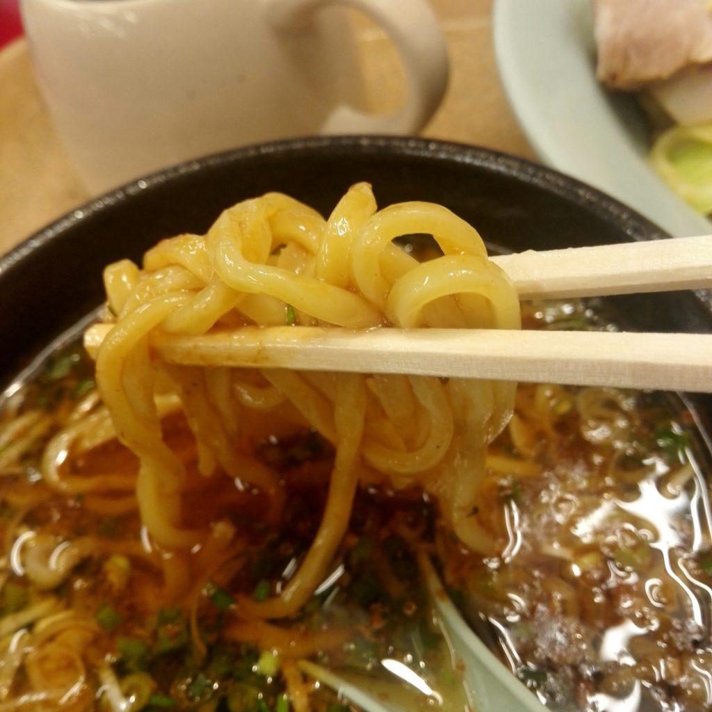 山岡家期間限定つけ麺の麺