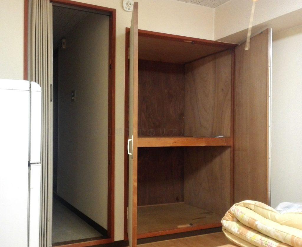 三菱自動車の期間工が生活する長久手寮の部屋画像2