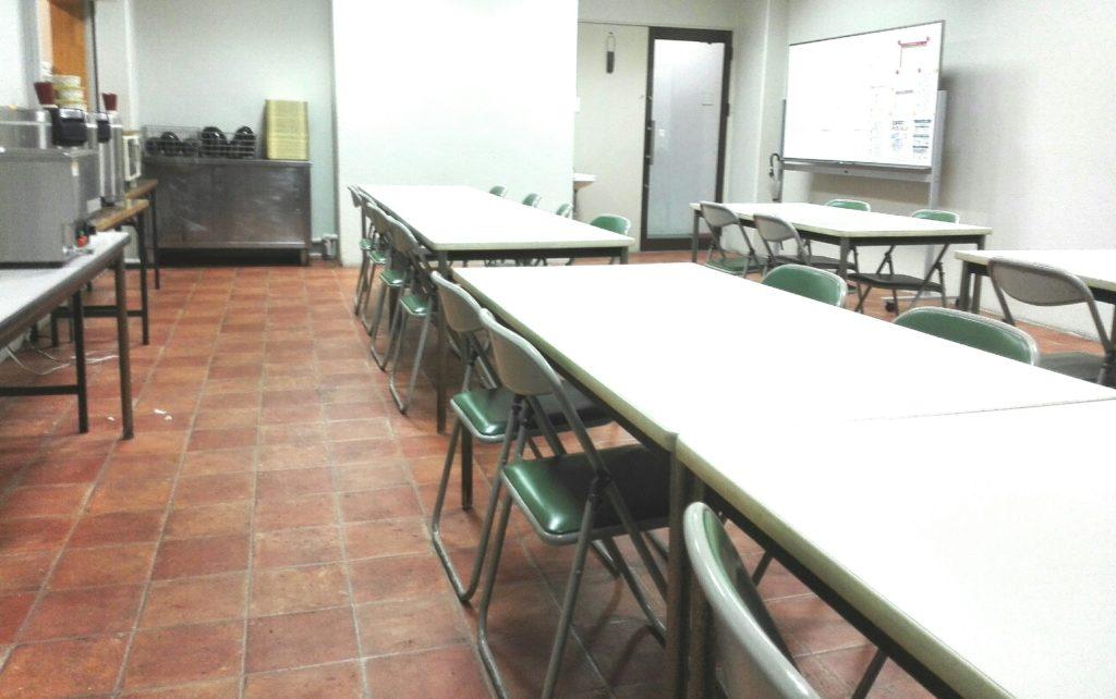 長久手寮の食堂