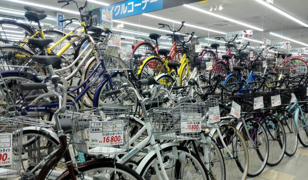 DCMカーマ 矢作店自転車売り場