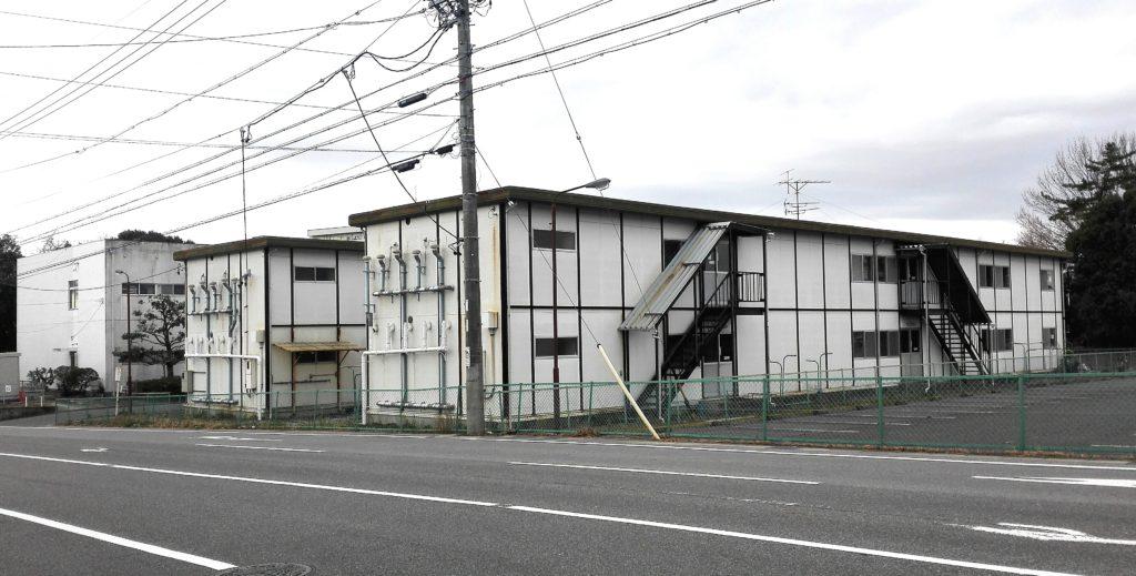 三菱自動車の期間工が生活する小針寮1