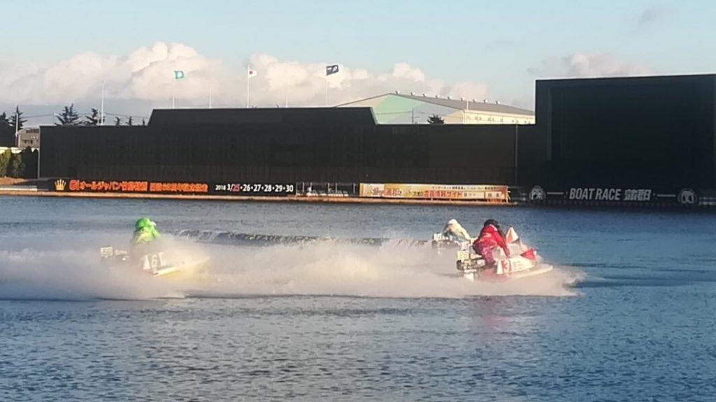 ボートレース蒲郡レース画像