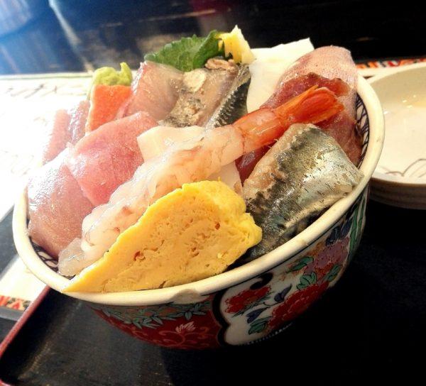 しれとこ食堂海鮮丼ランチ2