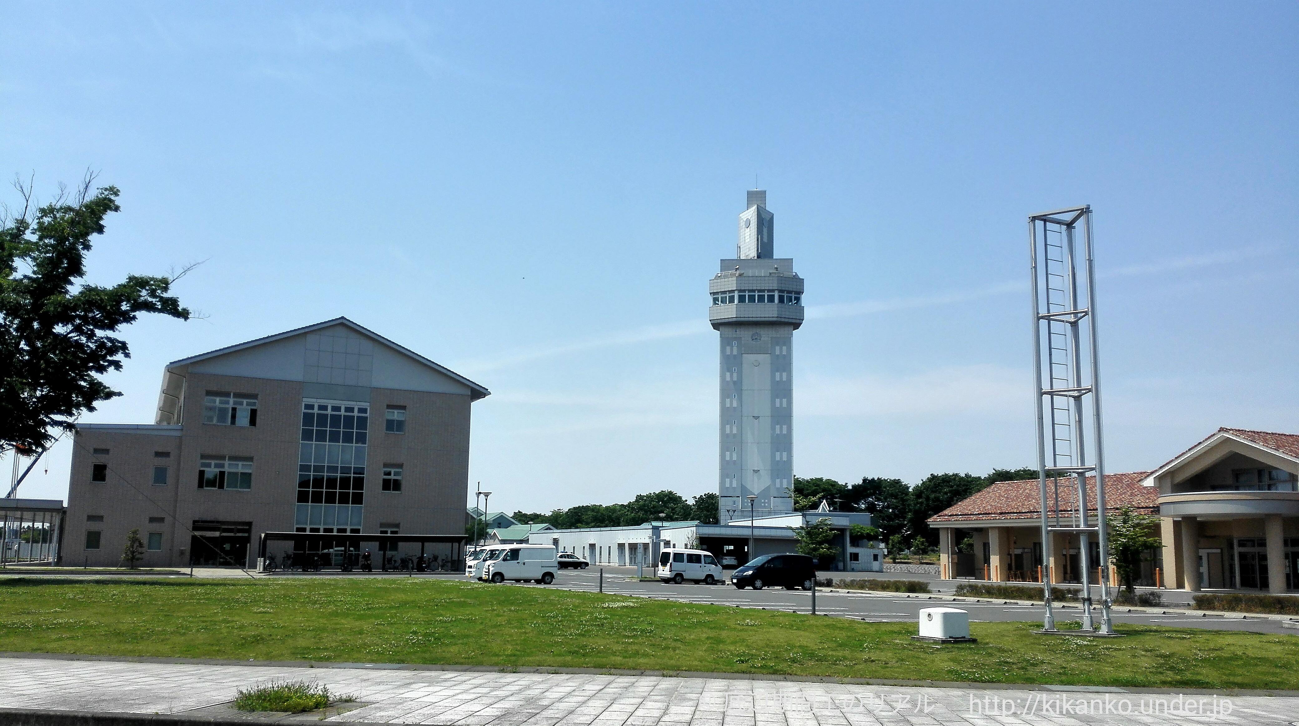 期間工がチャリで行く。邑楽町シンボルタワー未来 ‐ MiRAi ‐