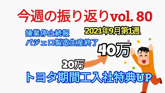 【2021年10月25日】主要自動車メーカーの期間工求人情報